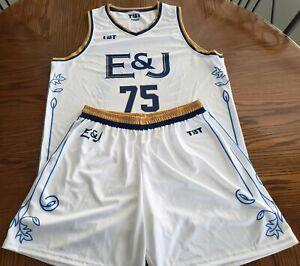 TBT 2021 Basketball Tournament E&J Game Shorts & Jersey XL NEW