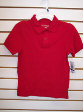 Boys Nautica $24 Assorted Color Polo / Uniform Shirts Size 6 - 18/20