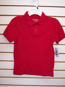 Boys Nautica $24 Assorted Color Polo / Uniform Shirts Size 6 - 18/20