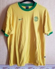 SIZE L MANCHESTER UNITED YELLOW/GREEN T-SHIRT NIKE NEWTON HEATH  EX COND