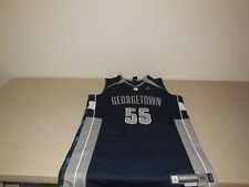 Nike Georgetown Hoyas Basketball Jersey Michael Jordan Sewn Team Athletic L/XL