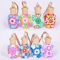Car Pendant Diffuser Bottle Fragrance Pendant Hanging Perfume Air Freshener Gift