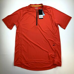 Louis Garneau West Branch Red Cycling Jersey Men's Large New