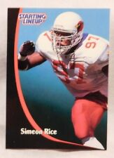 1998 Starting Lineup Simeon Rice Cardinals Football Card