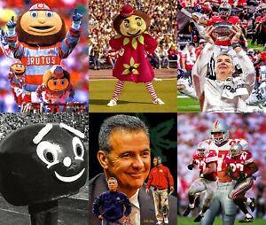 Ohio State Brutus Mascot Buckeyes Art College Football Urban Meyer Eddie CHOICES