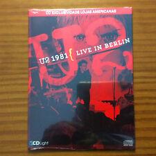 U2 LIVE IN BERLIN 1981 CD BRAZIL GLORIA CRY OCTOBER TWILIGHT REJOICE SEALED