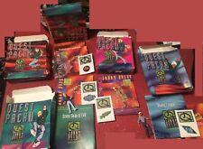 1996 Jonny Quest The Real Adventures Pizza Hut Quest Pack 1, 2, 3, 4 + bonus