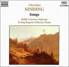 Songs Sinding, Christian, Erling R. Eriksen, Bodil Arnesen Audio CD