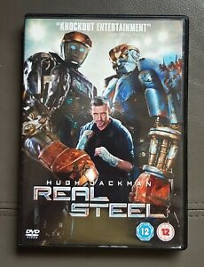Real Steel DVD - Hugh Jackman - Knockout entertainment, high tech boxing