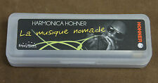 "Harmonica diatonique Hohner ""Blues Band"" en Do - C Neuf. Sommier résine, facile."