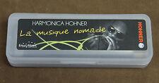 "Harmonica diatonic Hohner ""Blues Band"" in C New. Harmonica comb resin, easy."