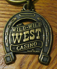 VINTAGE Wild Wild West Bally's Park Place Casino Key Chain RARE hs