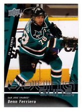 1X BENN FERRIERO 2009-10 Upper Deck #237 YOUNG GUNS RC Rookie Sabres Lots Availa