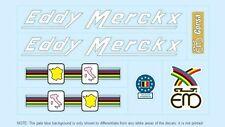 Eddy Merckx bicyclette decals-transfers-autocollants #1