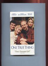 Brand New Vhs Video:One True Thing (VHS, 1999), Meryl Streep,Still in plastic