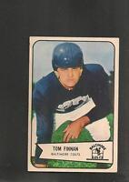 1954 Bowman # 97 B  Tom Finnan Ex-Mt