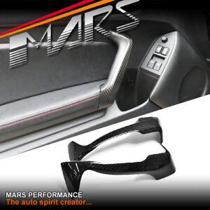 Real Carbon Fibre Interior Door handle Trim Covers for Toyota 86 & Subaru BRZ