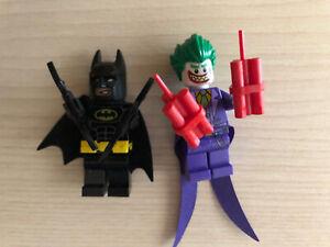 Batman Lego Mini Figures Batman And  Joker From Lego Magazine