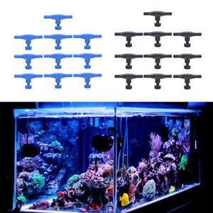 10pcs fish tank air line flow control regulator valve aquarium for 4/6mm airY MO
