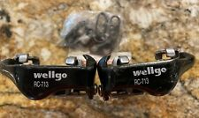 Wellgo RC-713 Bicycle Clipless SPD Style Road MTB Bike Pedals Black + Cleats