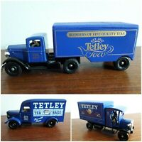 3 VANS BY Lledo Promotional Diecast Model'Tetley Tea Bags'promotion