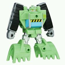 Playskool Heroes Transformateurs Rescue Bots Rescan Boulder construction Bot action