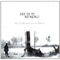 """GOD IS AN ASTRONAUT """"ALL IS VIOLENT ALL IS BRIGHT"""" CD NEUWARE"""