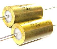 2 Condensateurs LCC - Aérospatial NEUFS 4.7uF 2% 63V  FREE SHIPPING
