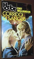 LIBRO Chet Williamson CORRIDOI DI SANGUE (Horror Mondadori 16 1991) 1° ediz.