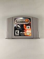 Asteroids Hyper 64 (Nintendo 64, 1999) Tested Working