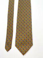 Brooks Brothers Basics Men's Olive Green Silk Necktie NEW NWT
