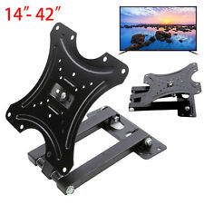 "Durable TV Wall Bracket Mount Swivel Tilt 14 21 23 26 32 37 40 42"" Plasma 3D LED"