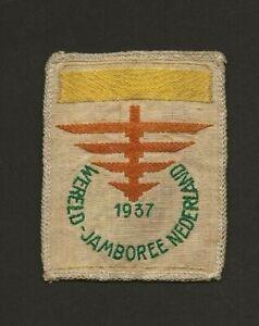 1937 - World Scout Jamboree - Participant Badge - Yellow Bar - Sub Camp 1