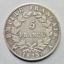 Napoléon Ier - 5 Francs - Revers Empire - 1813 A  Paris