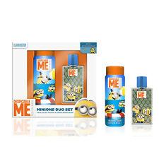 MINIONS ensemble de parfum eau toilertte 75ml + bain douche 250 ml pour enfant/a