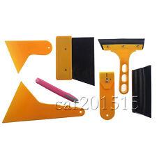 7x Car Window Scraper Tint Vinyl Film Squeegee Applicator Installation Tool Kit