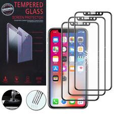"3x Cristal protector para Apple iPhone x 5.8"" real de Pantalla Negro"