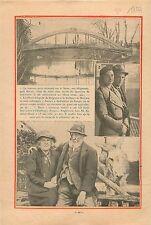 Prince Léopold de Belgique & Duchesse de Brabant Congo Belge 1933 ILLUSTRATION