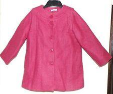 BNWOT pink COS Winter wool COAT/ JACKET age 3 NEW