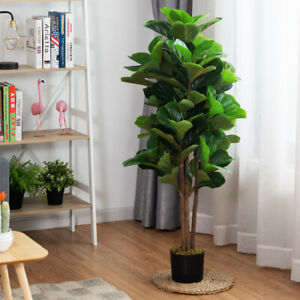 120CM Artificial Palm Tree Realistic Fake Tropical Plant In/Outdoor Decoration