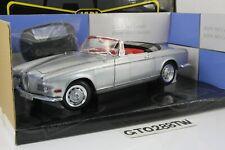 Jadi 1:18 scale BMW 503 Cabrio/Cabriolet 1956 w/Hardtop(Silver) DieCast JM98042