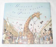 The Giraffe That Walked to Paris by Nancy D. Milton FIRST EDITION Hardback in DJ