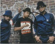 Darryl McDaniels RUN DMC Rapper SIGNED 8x10 Photo WALK THIS WAY IT'S TRICKY B