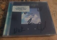 Autographed  DEATH CAB FOR CUTIE Thank You For Today CD Signed
