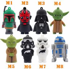 Cool Cartoon Star Wars USB 2.0 Flash Drive Storage Pendrive 8GB 16GB Friend Gift