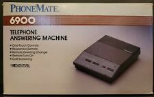 Vtg 1988 PhoneMate 6900 Telephone Answering Machine Digital Recorder Complete