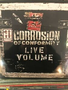 Corrosion Of Conformity ‎– Live Volume-SEALED 2XLPs PUNK HARDCORE RARE LP