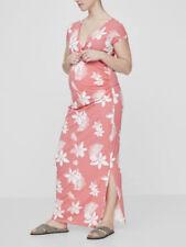 Cotton Blend Casual Maxi Maternity Dresses