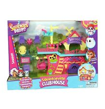 Squinkies do Drops Squinkieville Clubhouse Playset Season 1 NEW
