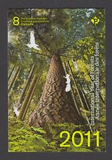 CANADA BOOKLET BK452 92c x 8 INTERNATIONAL YEAR OF FORESTS